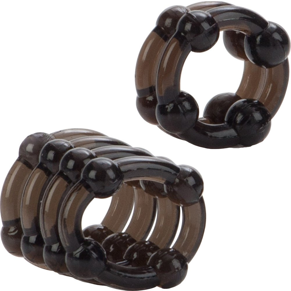 California Exotics COLT Enhancer Rings Pack of 2 Cock Rings Smoke - View #3