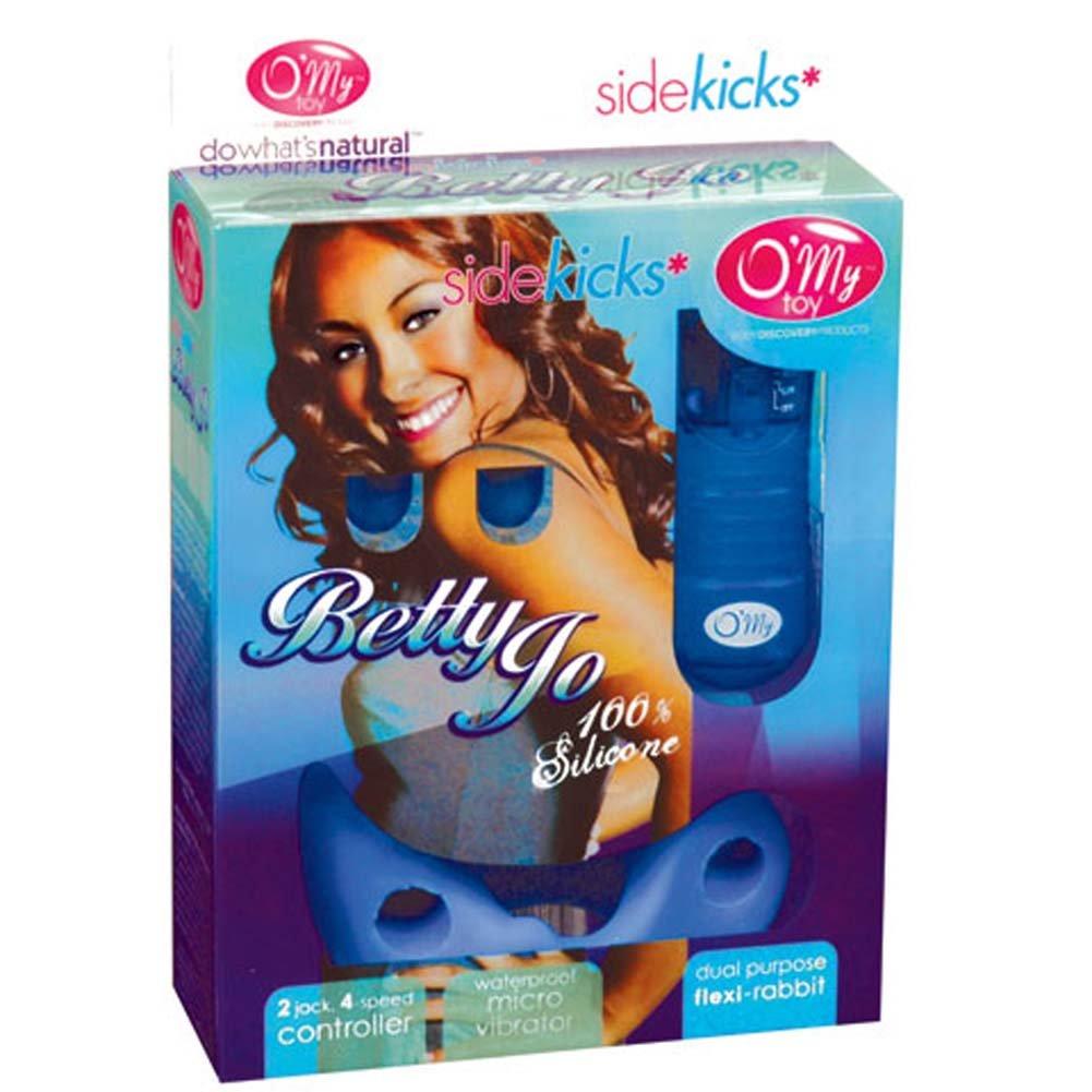 Betty Jo Blue Sidekick Silicone Blue Bullet Vibe 2 In. - View #1