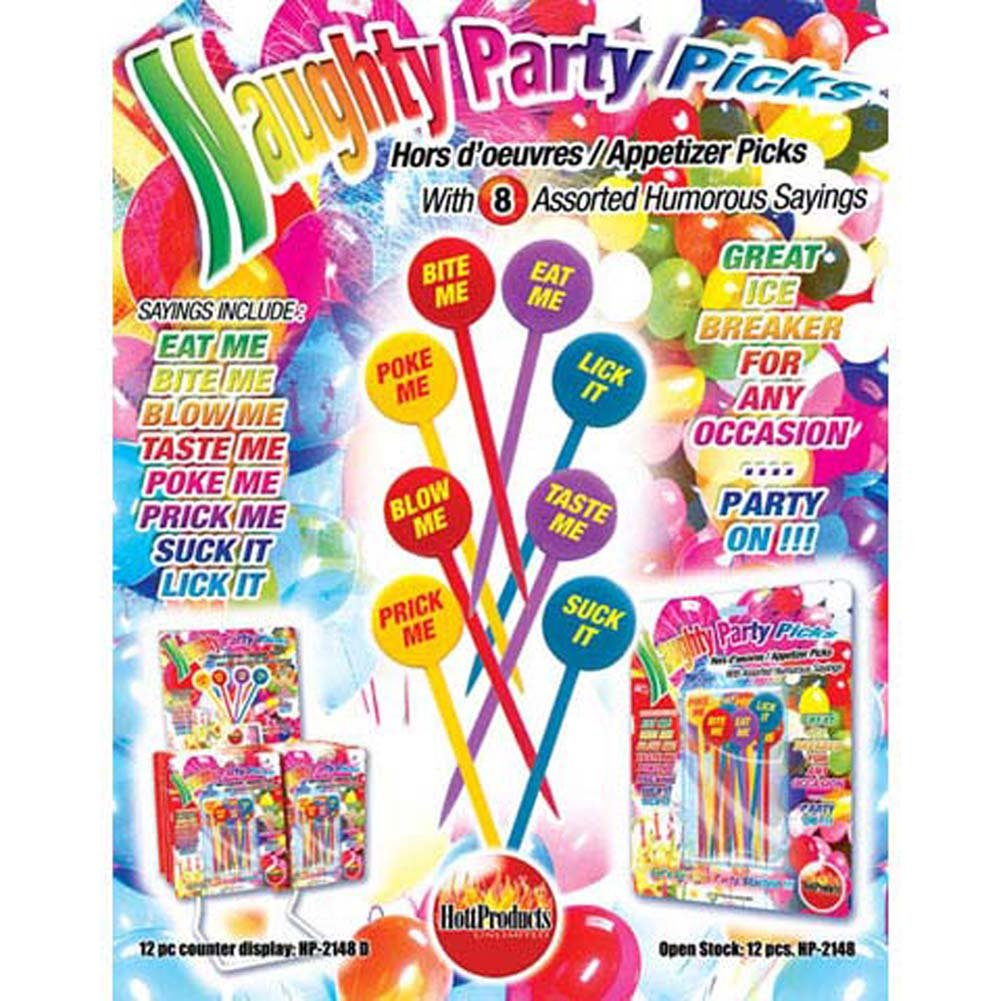 Naughty Party Picks 20 Piece Set - View #1