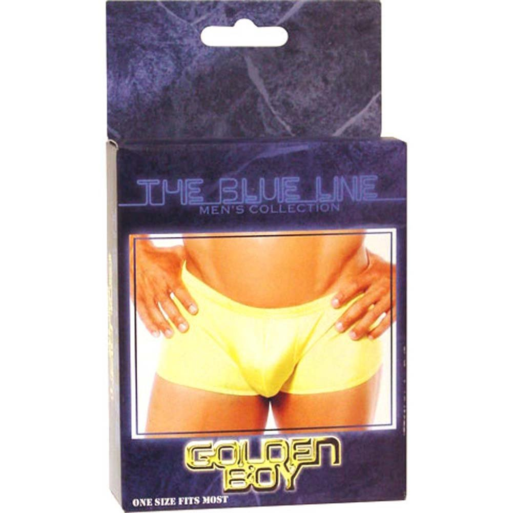Golden Boy Mens Panty Yellow - View #1