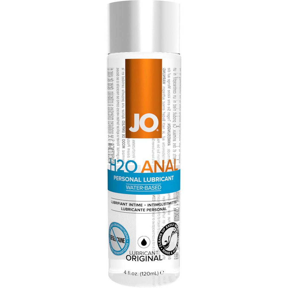 JO H2O Anal Original Water Based Personal Lubricant 4 Fl Oz 120 mL - View #2