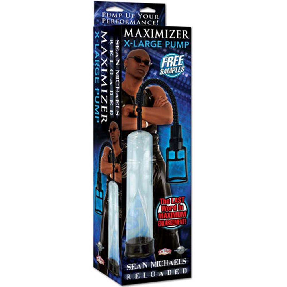 Sean Michaels Reloaded Maximizer XLarge Pump Ebony - View #3