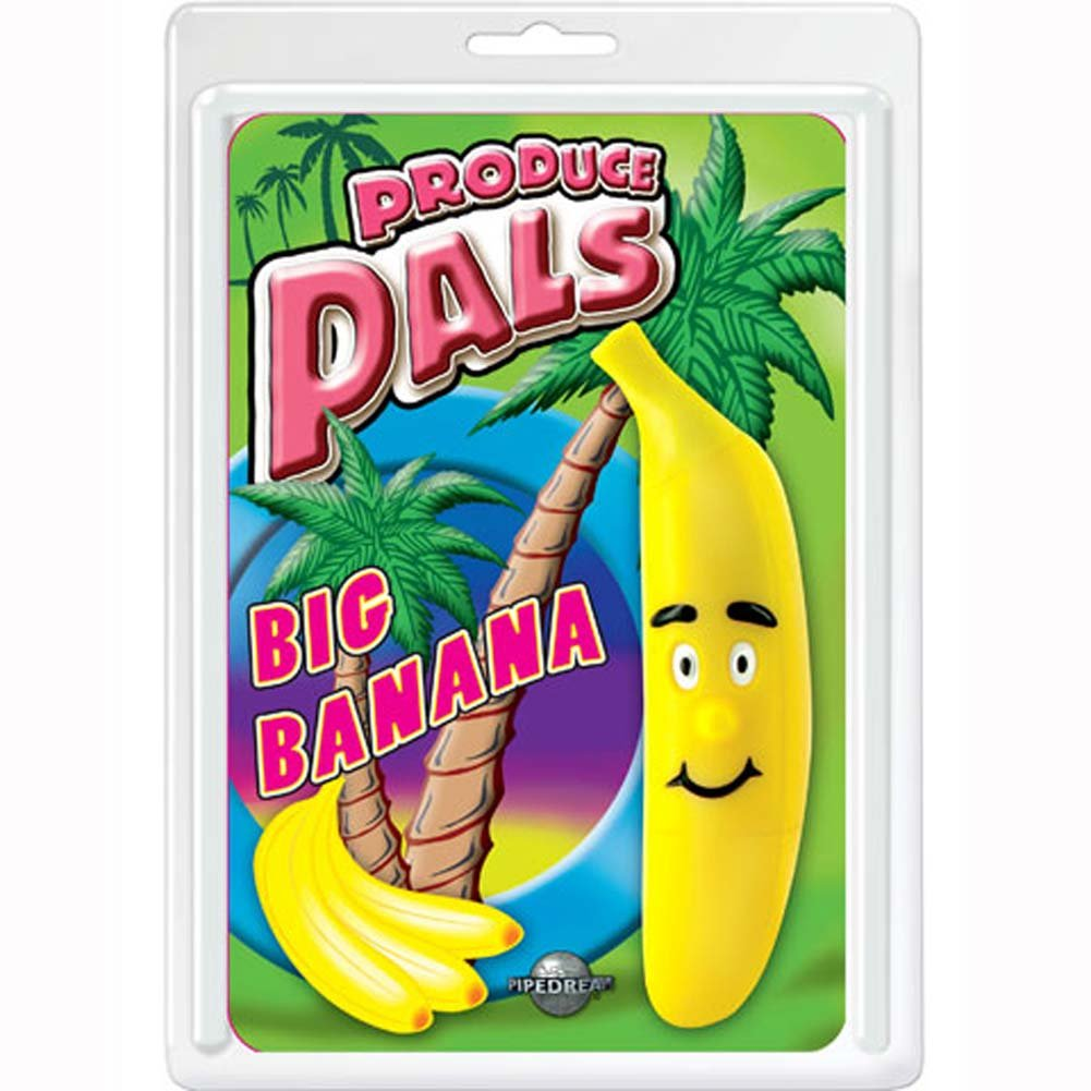 Produce Pals Big Banana 4.5 In. - View #1