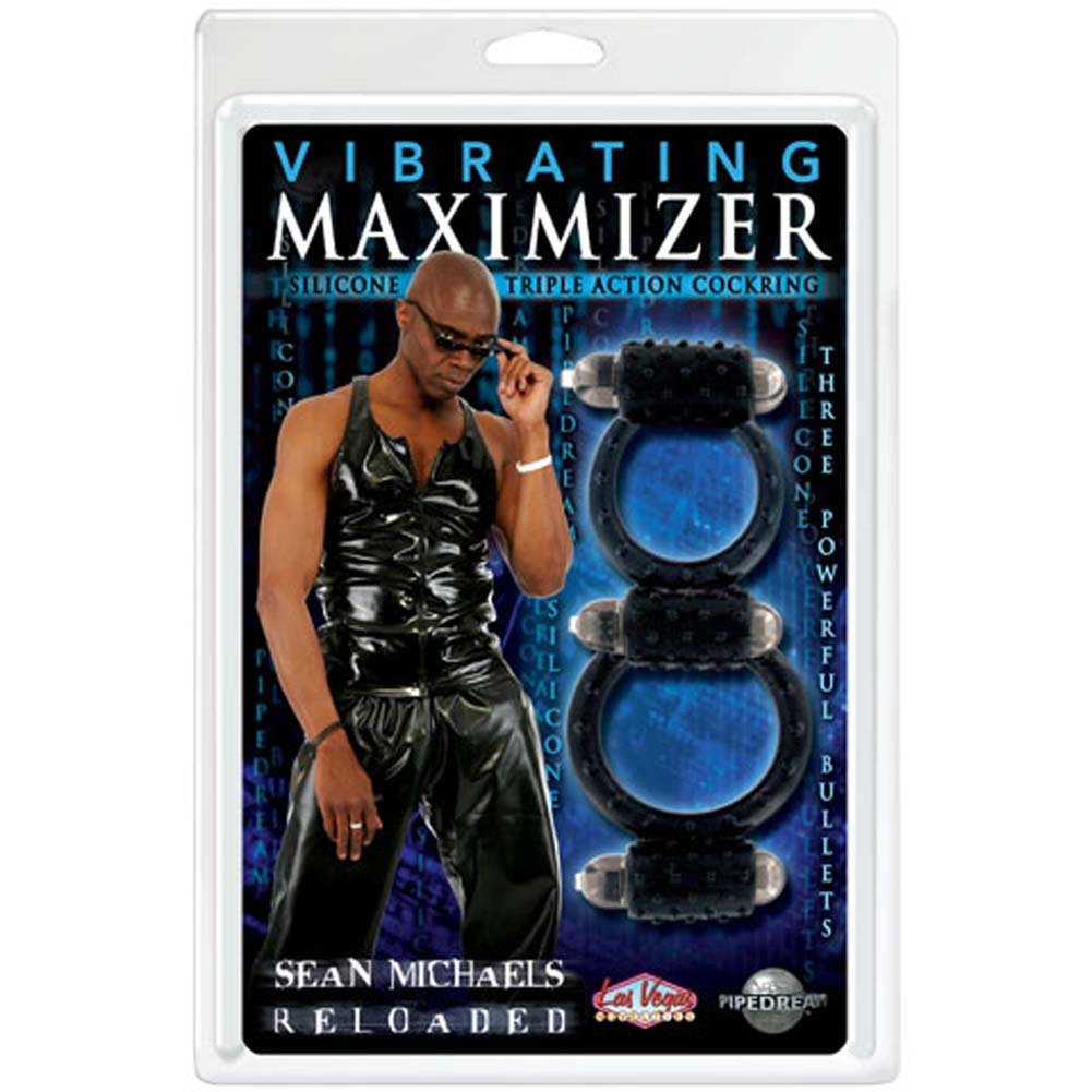 Sean Michaels Reloaded Vibrating Maximizer Cockring - View #2