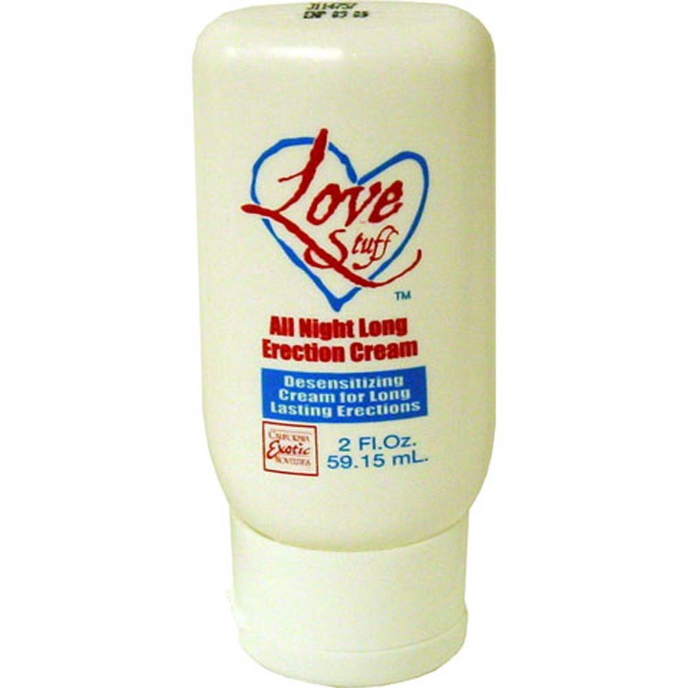 Love Stuff All Night Long Erection Cream 2 Fl. Oz. - View #1