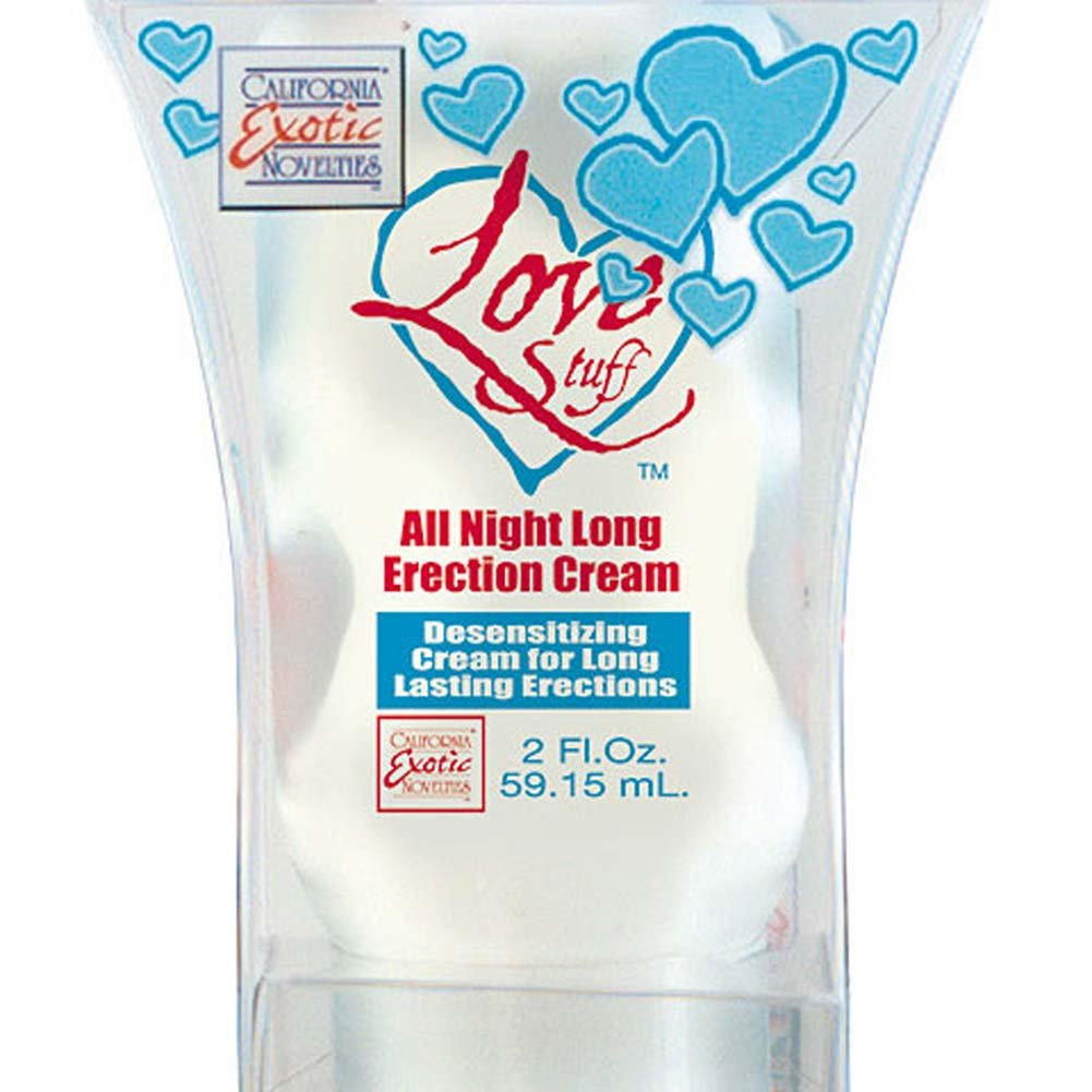 Love Stuff All Night Long Erection Cream 2 Fl. Oz. - View #3