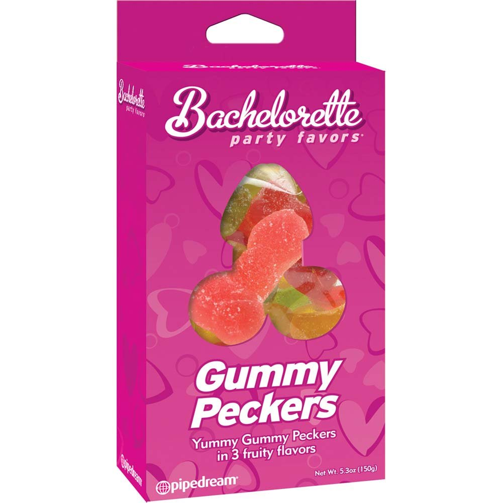 Bachelorette Party Favors Gummy Peckers - View #1