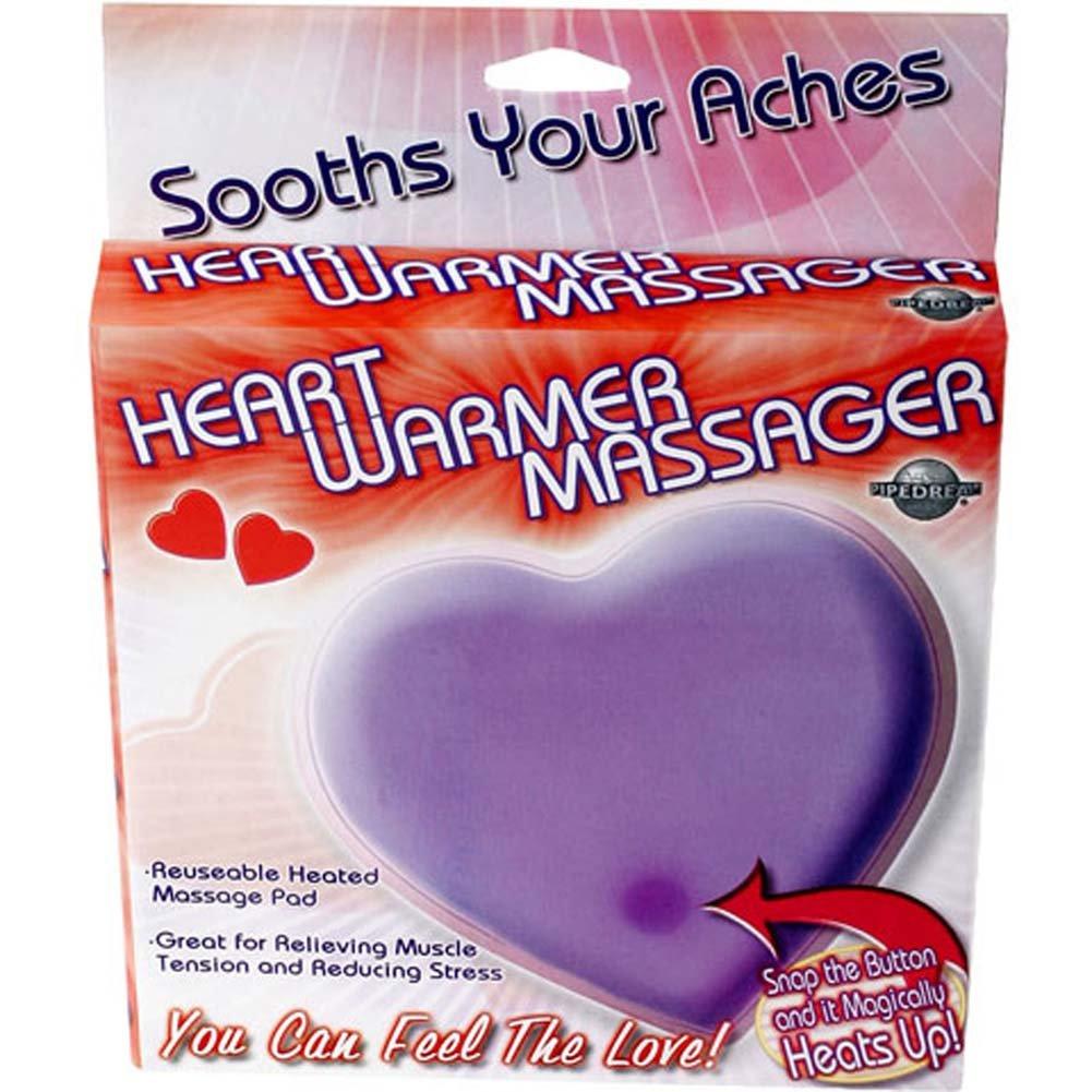 Heart Warmer Jelly Massager Purple - View #1