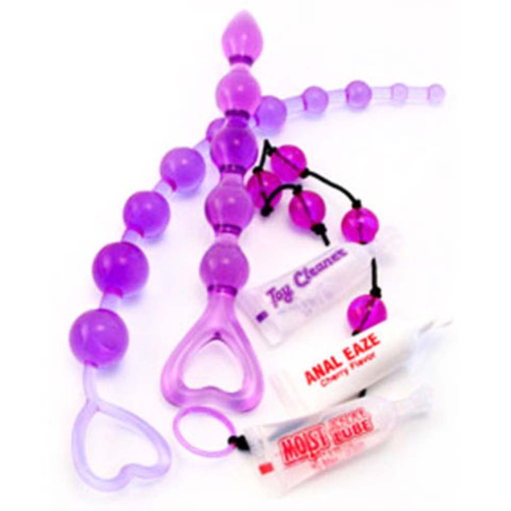Lovers Anal Bead Jelly Sampler 12.5 In. - View #2