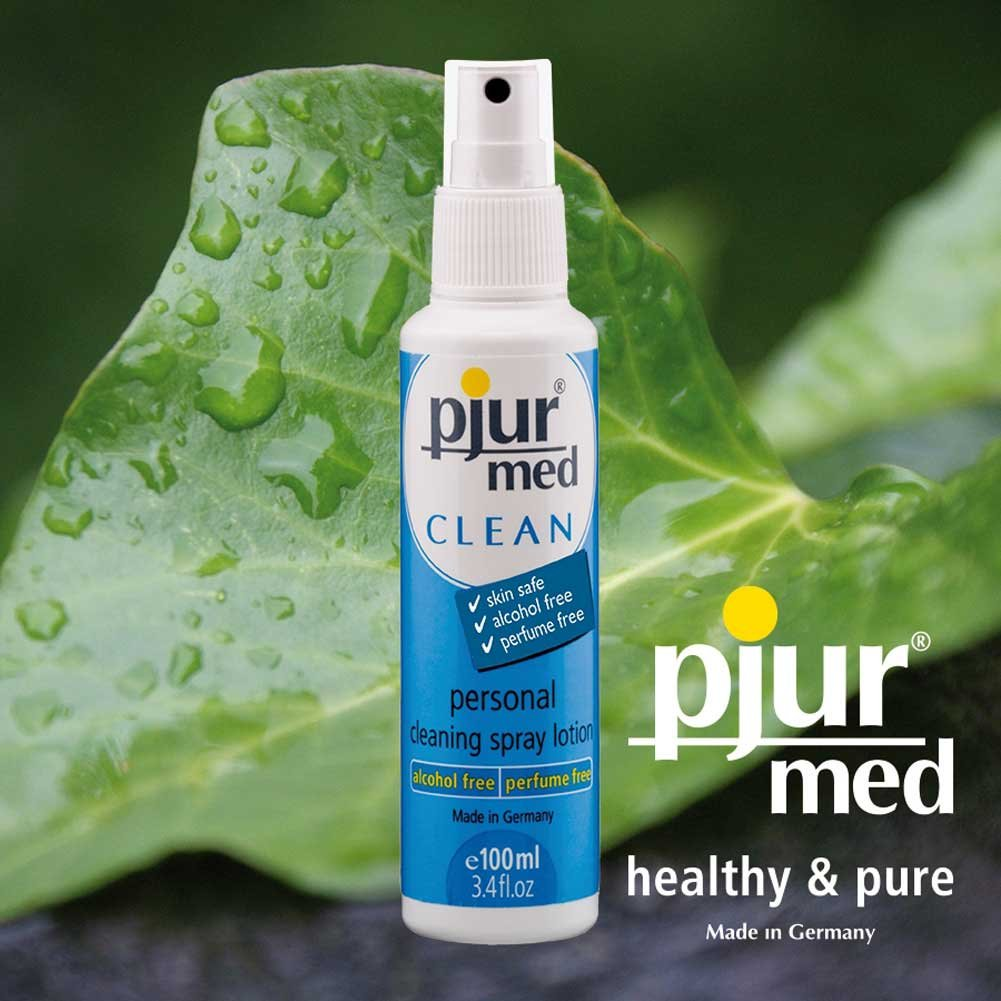 Pjur Med Clean Toy Cleaner 3.4 Fl.Oz 100 mL - View #1