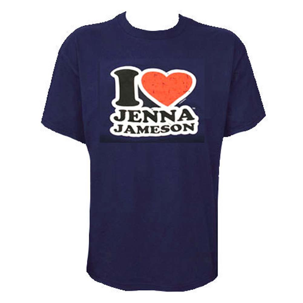 I Love Jenna Jameson Mens T Shirt Large Size - View #1
