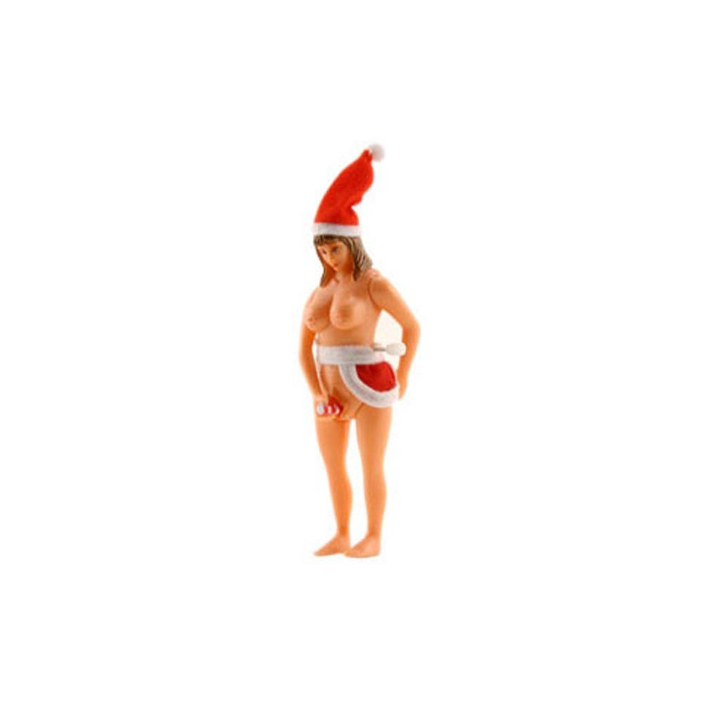 Mrs. Claus and Her Candy Cane - View #2