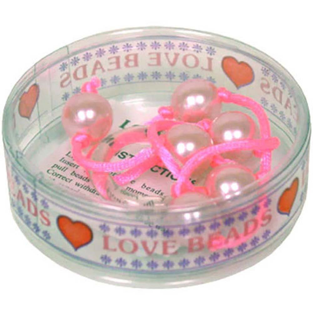 "Love Beads 14"" Light Pink - View #1"