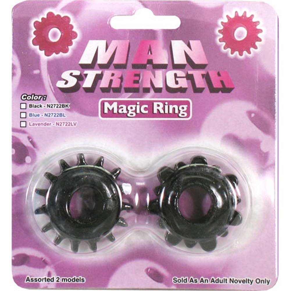 Man Strength Magic Ring Kit Black - View #1