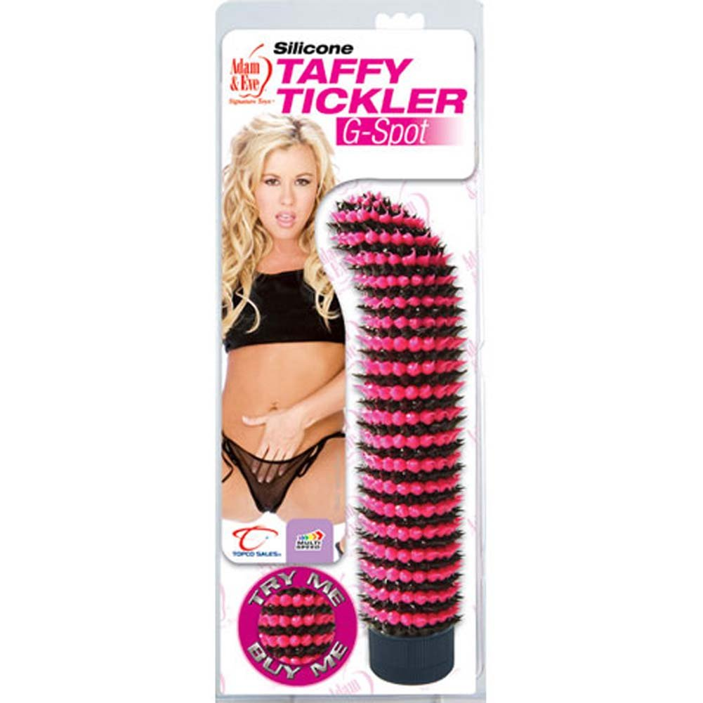 Silicone Taffy Tickler G-Spot Vibe 7.75 In. - View #1