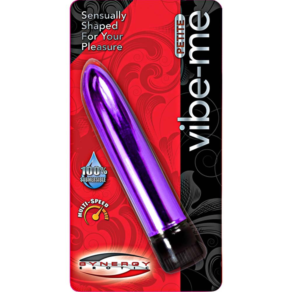 "Synergy Erotic Synergy Vibe Me Petite Vibrator 5.25"" Metallic Luster Lavender - View #3"