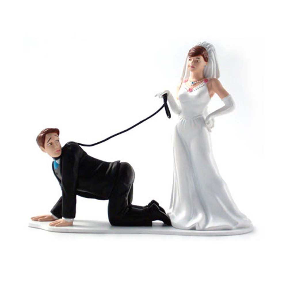 Humorous Cake Toppers Leash - View #2