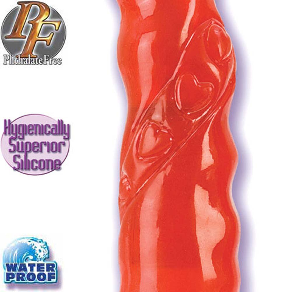 Sweetheart G-Spot Waterproof Silicone Vibe 9 In. - View #3