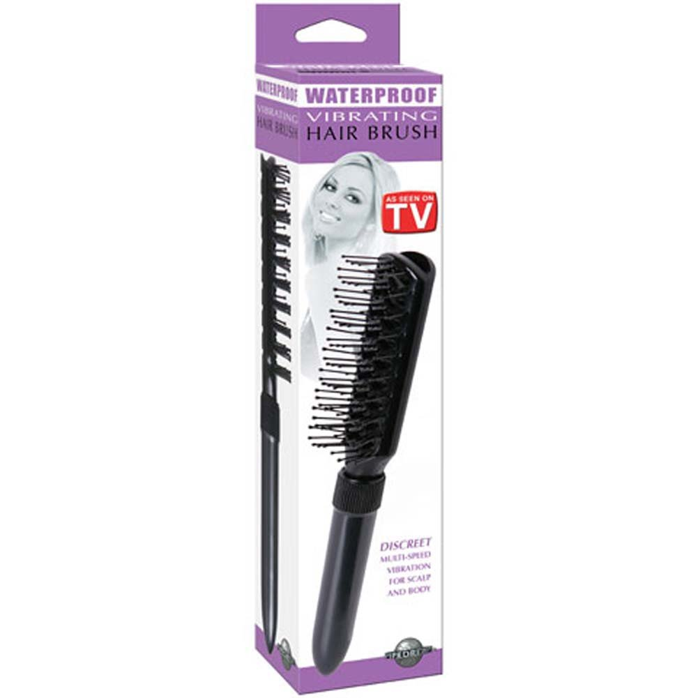 Waterproof Vibrating Hair Brush 10 In. - View #1