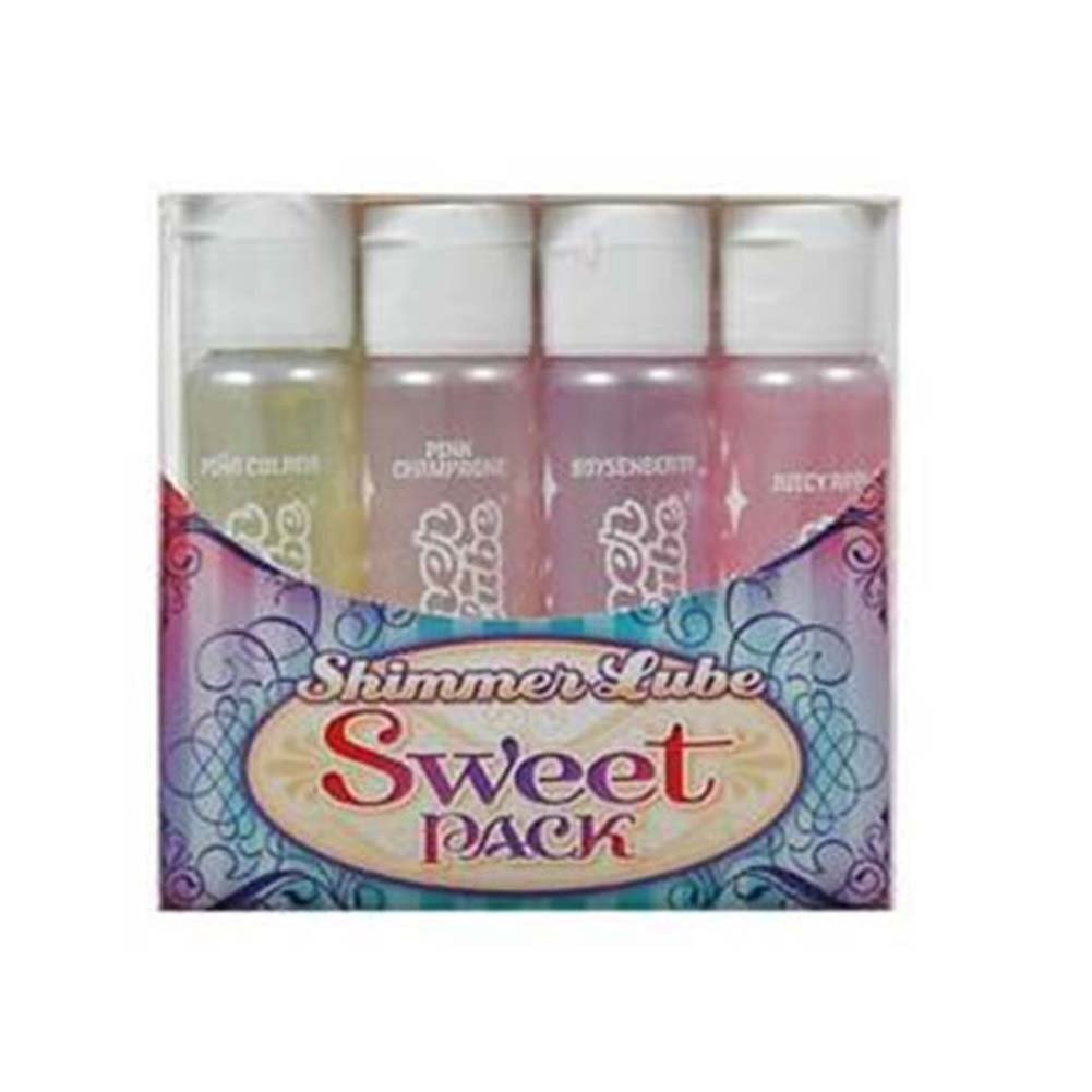 Shimmer Lube Sweet Pack 4 Flavors - View #1