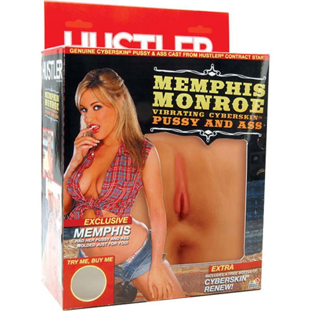 Memphis Monroe Vibrating Cyberskin Pussy and Ass Masturbator - View #1