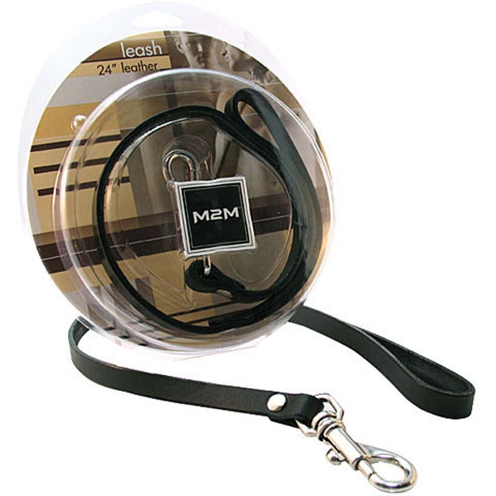 "M2M 24"" Leather Leash - View #3"