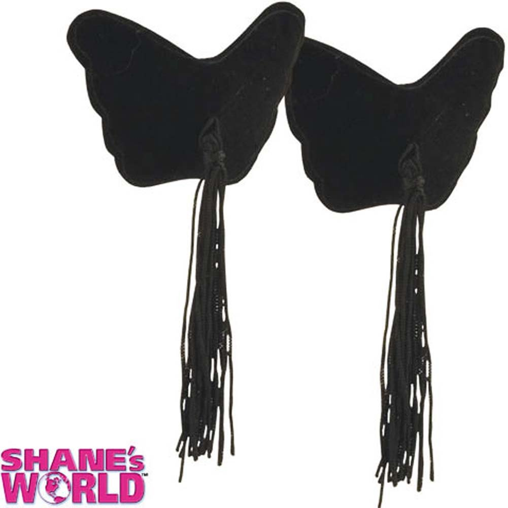 Shanes World Party Pasties Black - View #1