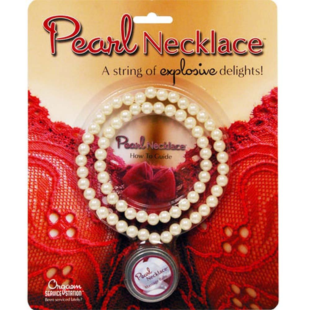 Lovers Choice Pearl Necklace Kit with Massage Balm - View #2