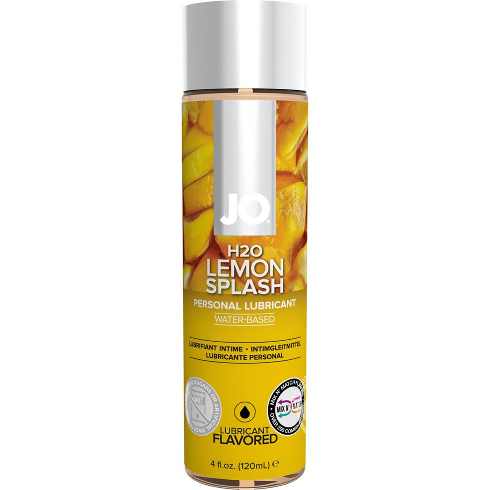 JO H2O Flavored Lubricant Lemon Splash 5.25 Fl. Oz. - View #1