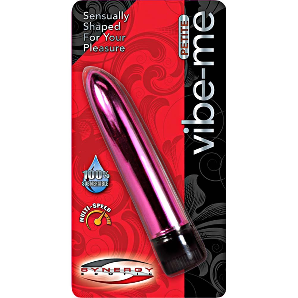 "Synergy Erotic Synergy Vibe Me Petite Vibrator 5.25"" Metallic Luster Pink - View #3"