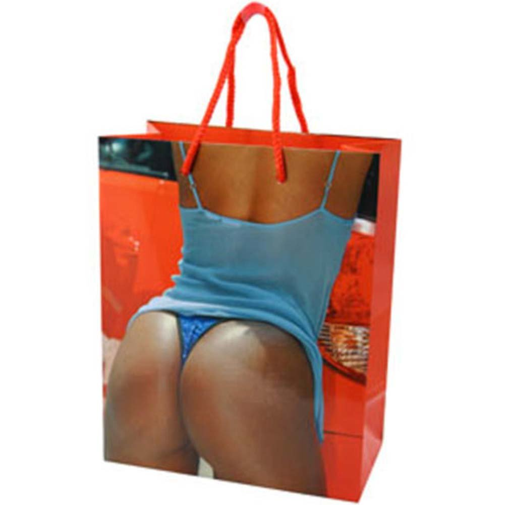 Blue Sequin Thong Gift Bag - View #1