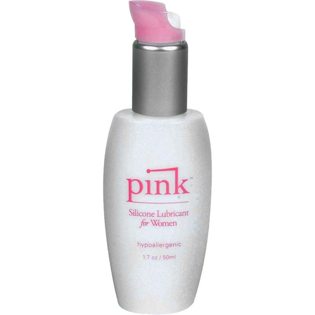 Pink Silicone Lubricant for Women 1.7 Fl. Oz. - View #1