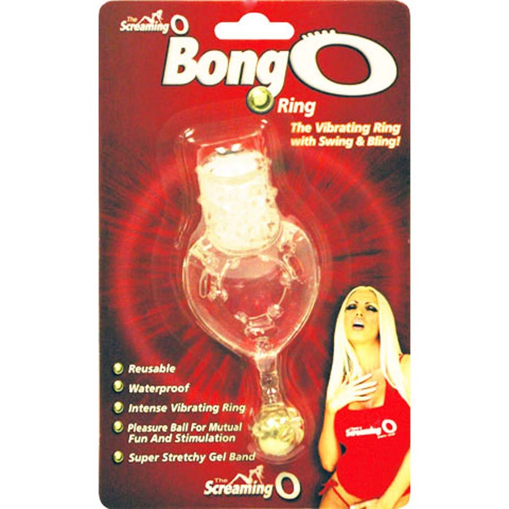Bong O Waterproof Vibrating Jelly Cockring - View #3
