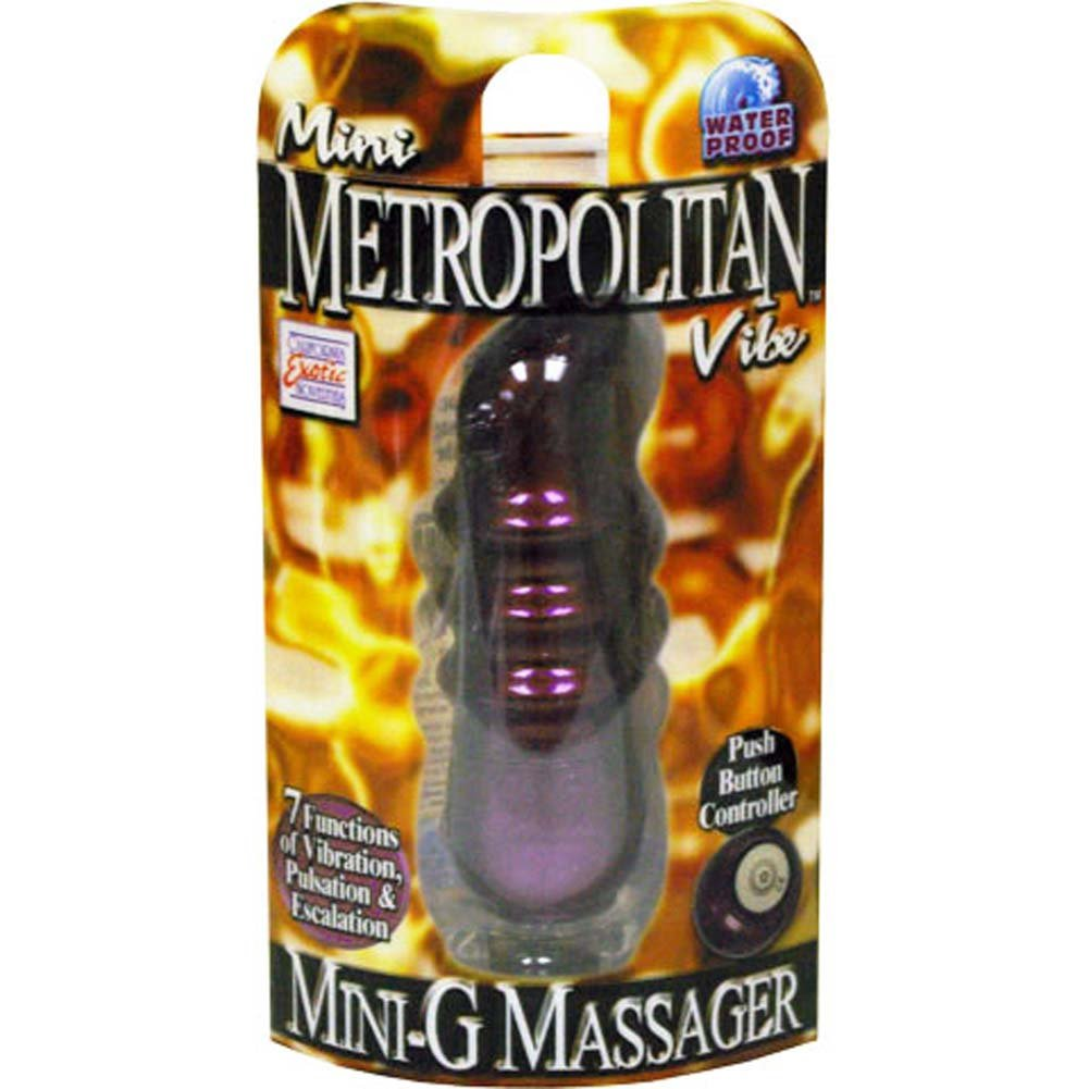 Mini Metropolitan Vibe Mini G Massager Purple 4 In. - View #3
