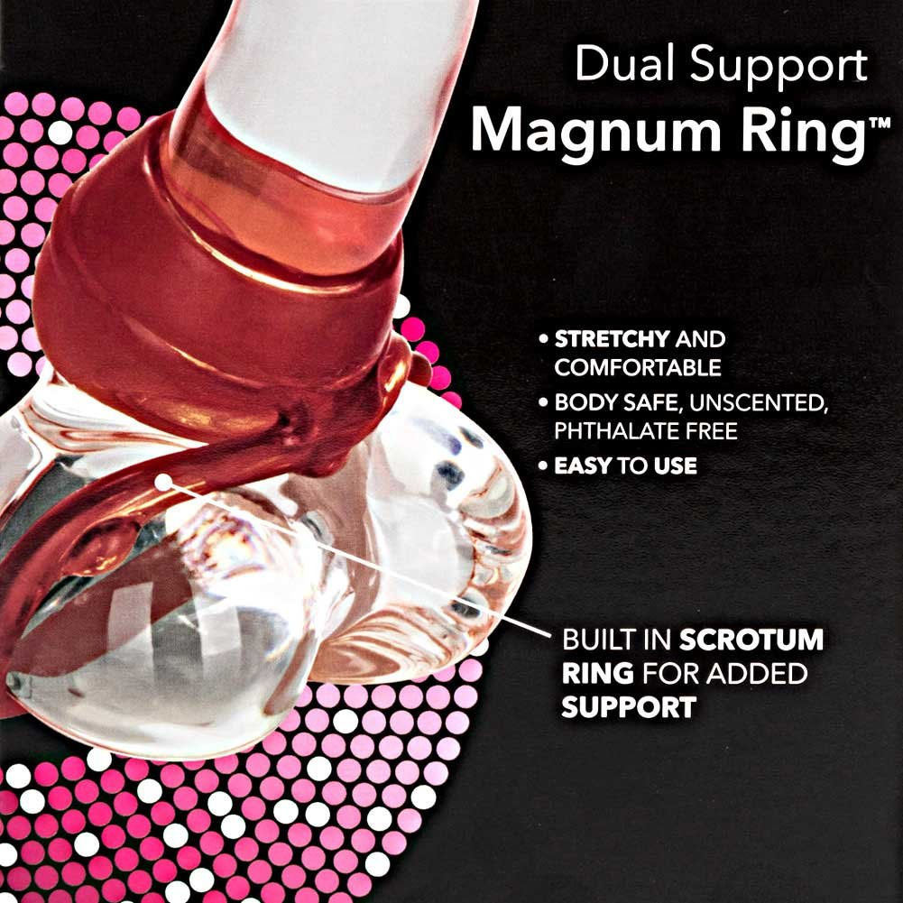 CalExotics Dual Support Magnum C-Ring Red - View #1