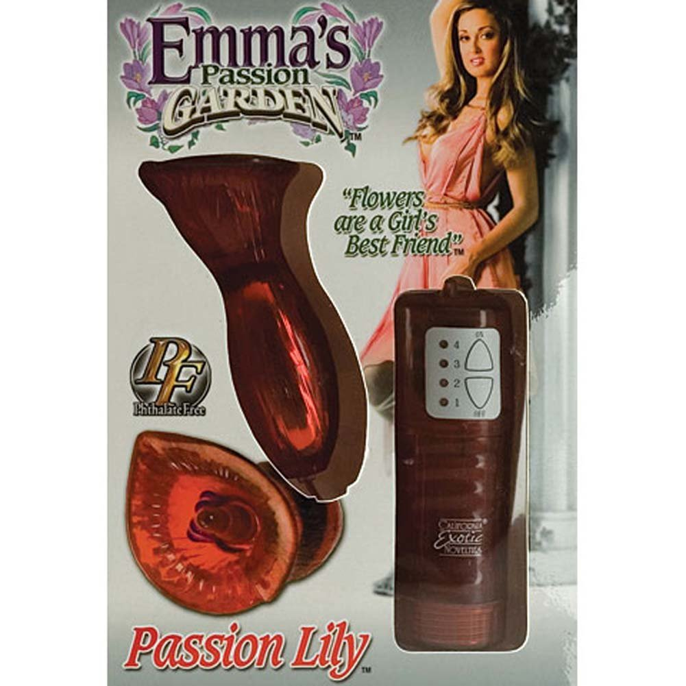 Emmas Passion Garden Passion Lily Waterproof Vibe 4 In. - View #4