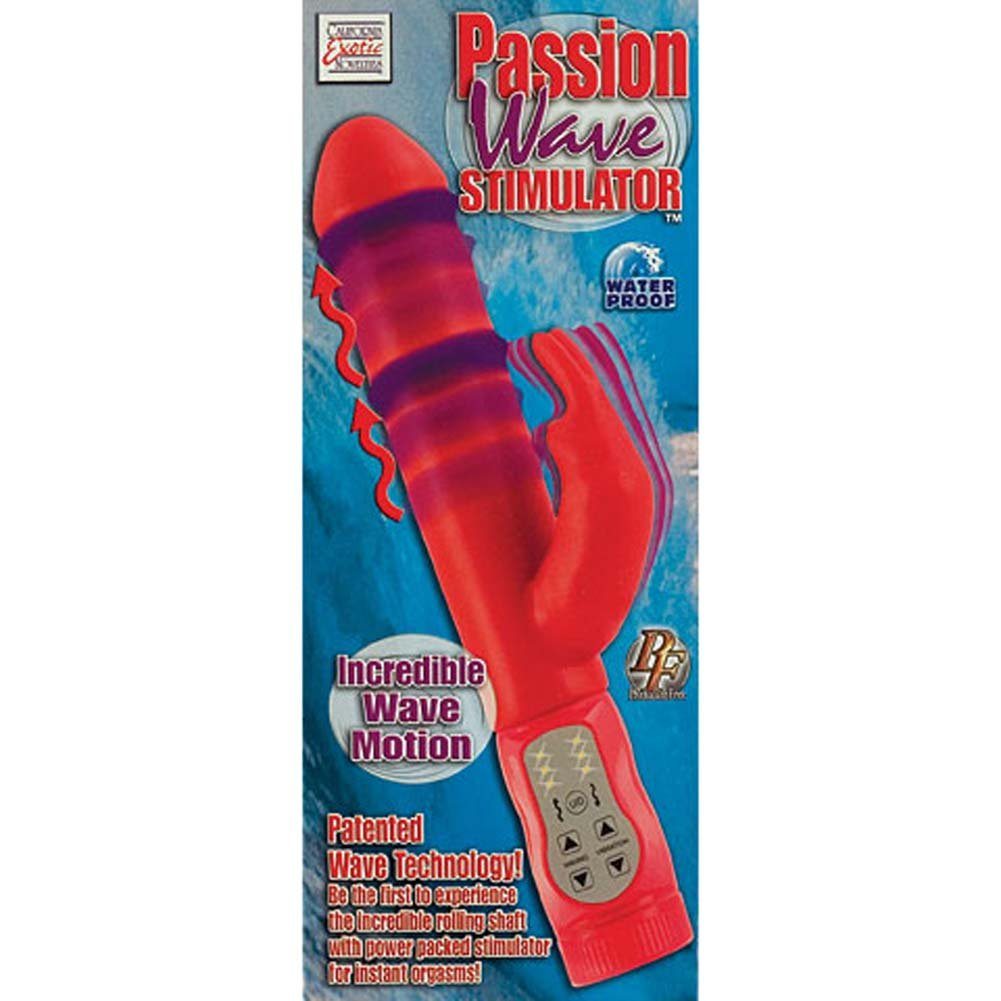 Passion Wave Stimulator Waterproof Vibe 10.5 In. - View #3