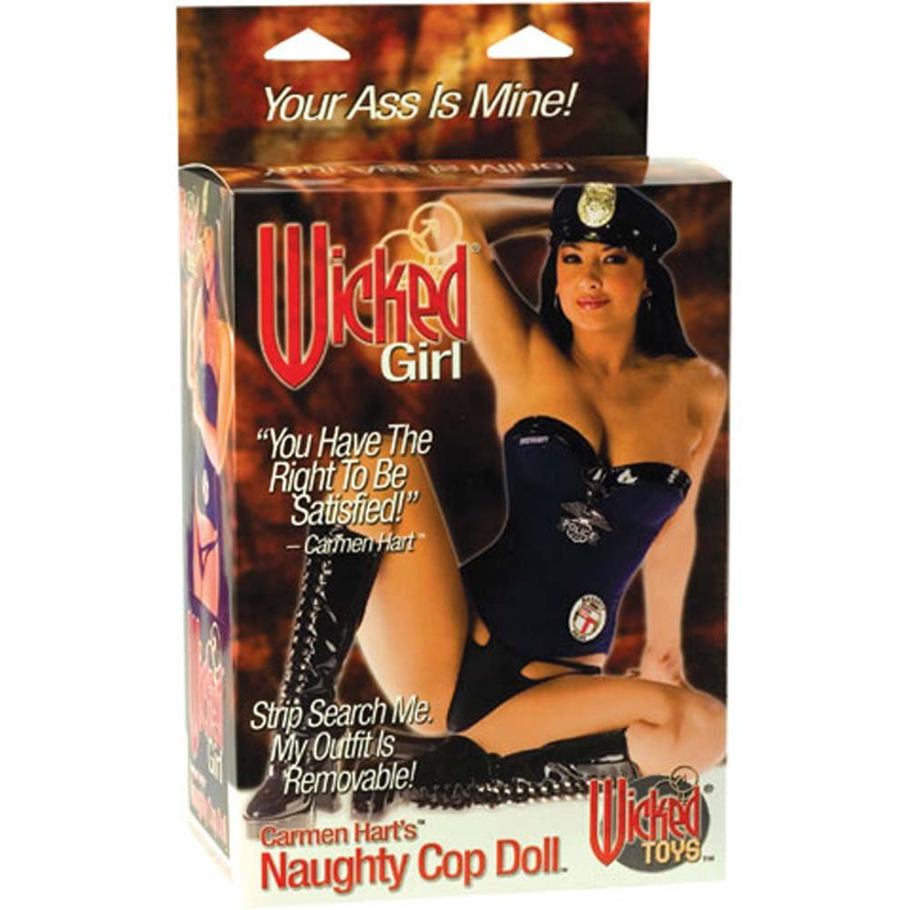 Wicked Girl Carmen Hart'S Naughty Cop Doll - View #1