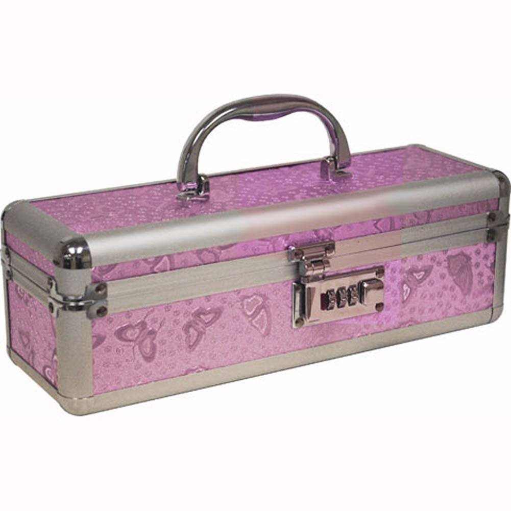 "Lockable Toy Chest Medium 12"" Pink - View #2"