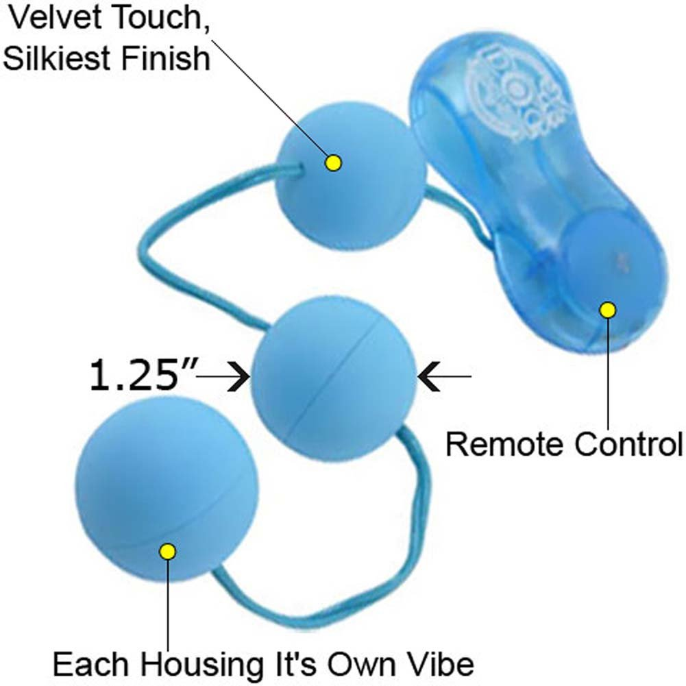 P3 Power Vibrating Balls Baby Blue - View #1
