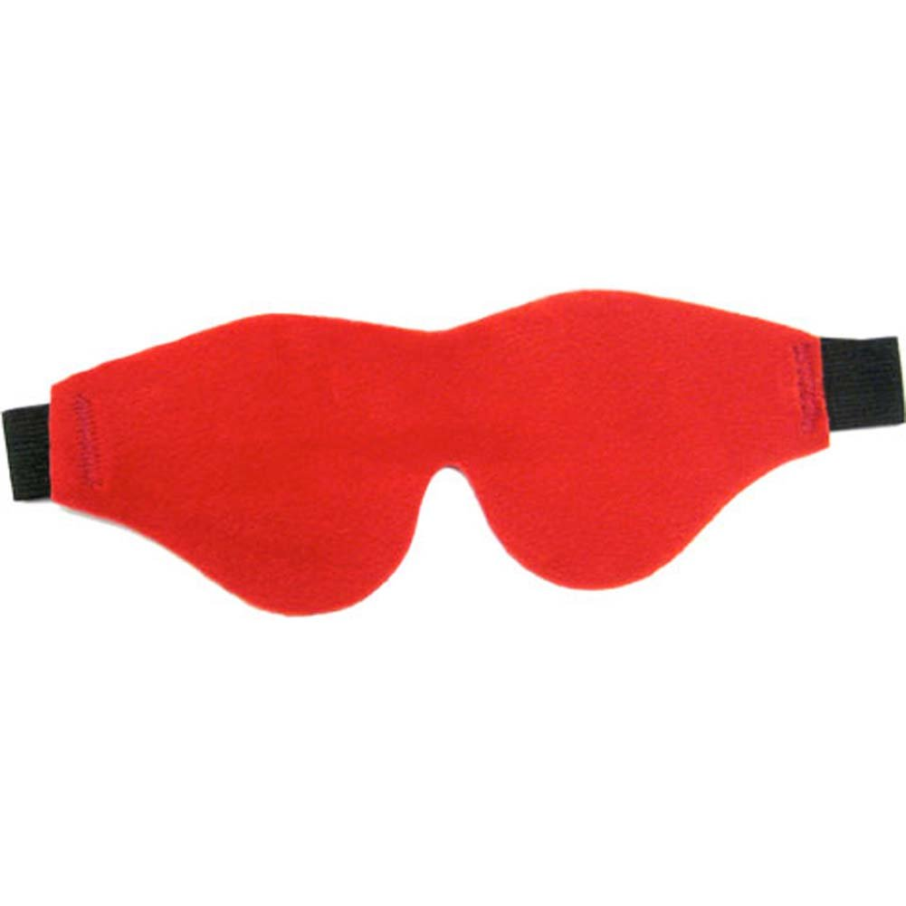 Flirt Soft Blindfold Mask Red - View #1