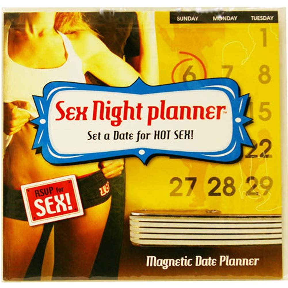 Sex Night Magnetic Date Planner - View #1