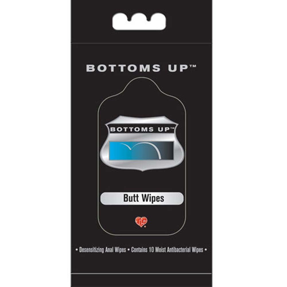 Bottoms Up Butt Wipes 10 Pack - View #1
