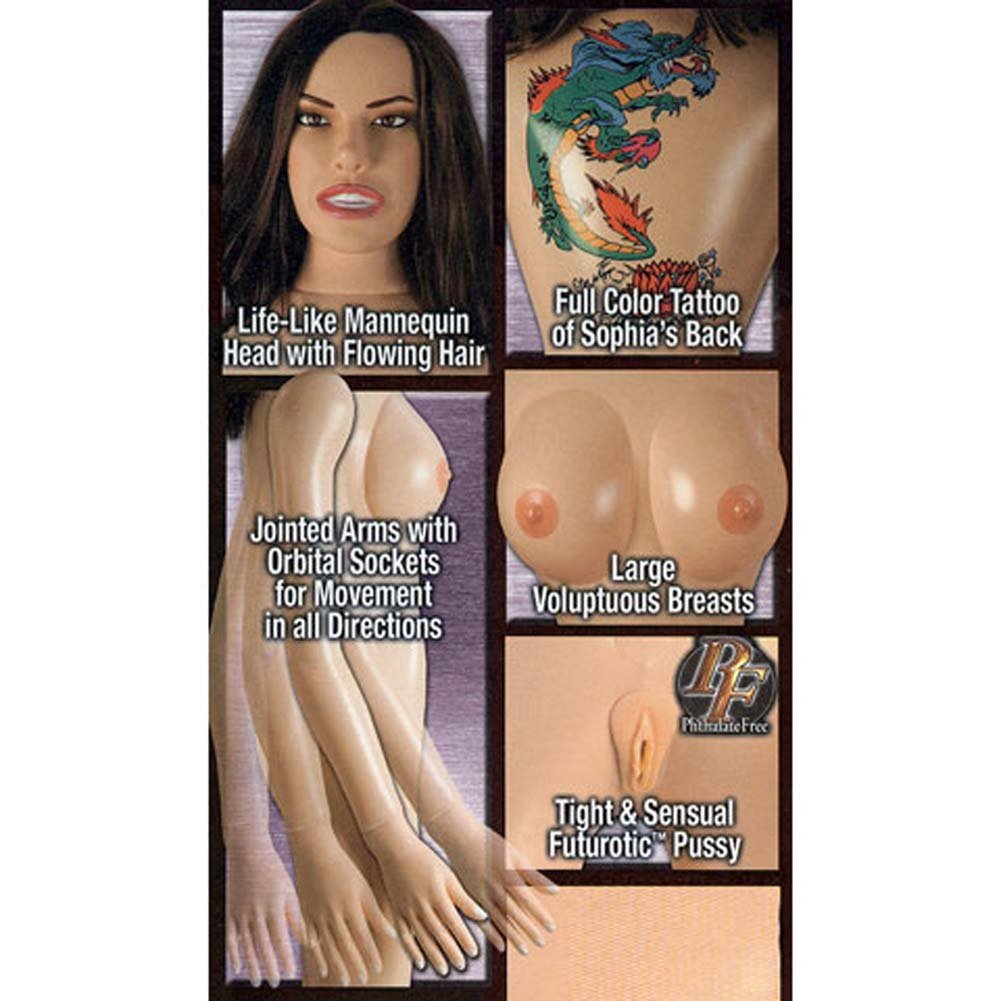 Sophia Inked Futurotic Vibrating Love Doll - View #3