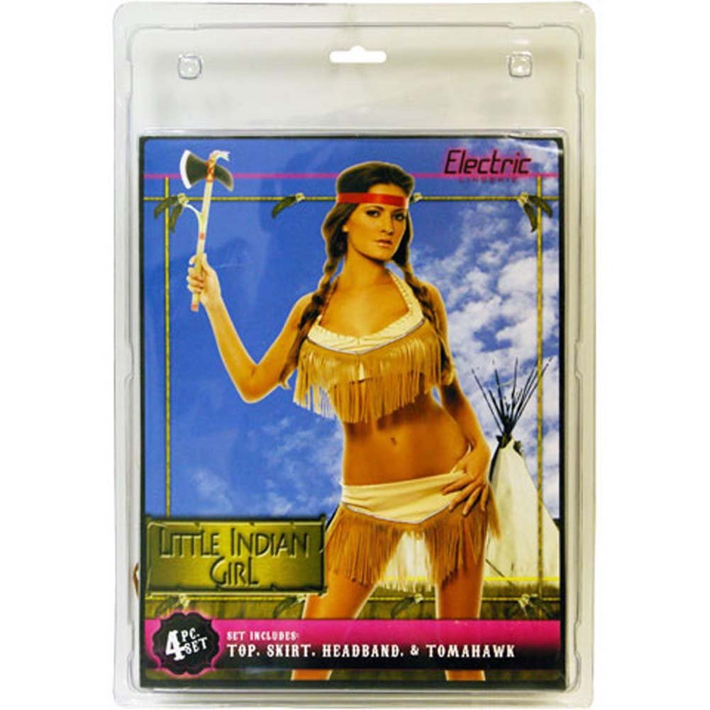 Little Indian Girl 2 Piece Costume Set - View #1