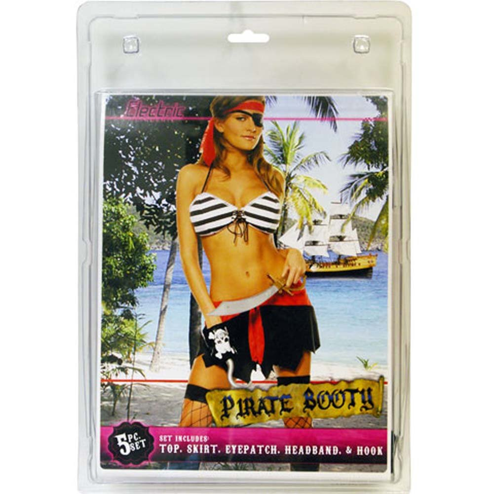 Pirate Booty 5 Piece Costume Set - View #1