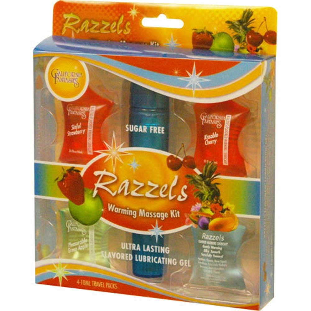 Razzels Warming Massage Kit Massager and 4 Gels 0.33 Fl. Oz - View #2