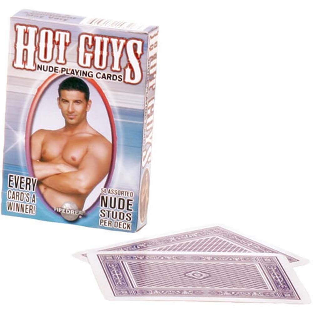 Hot Guys Playing Cards - View #1