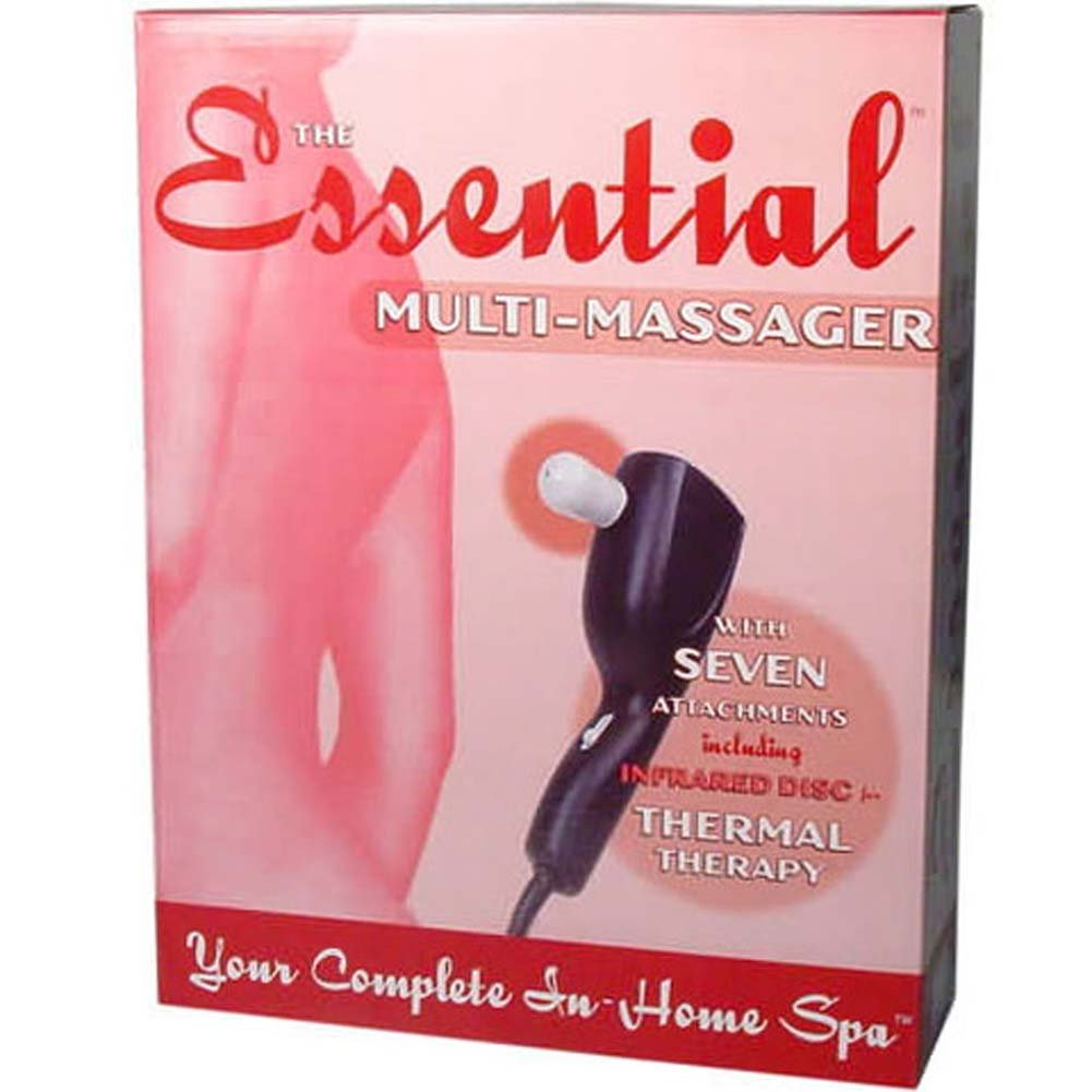 Essential Electric Multi Massager with 7 Attachments - View #1