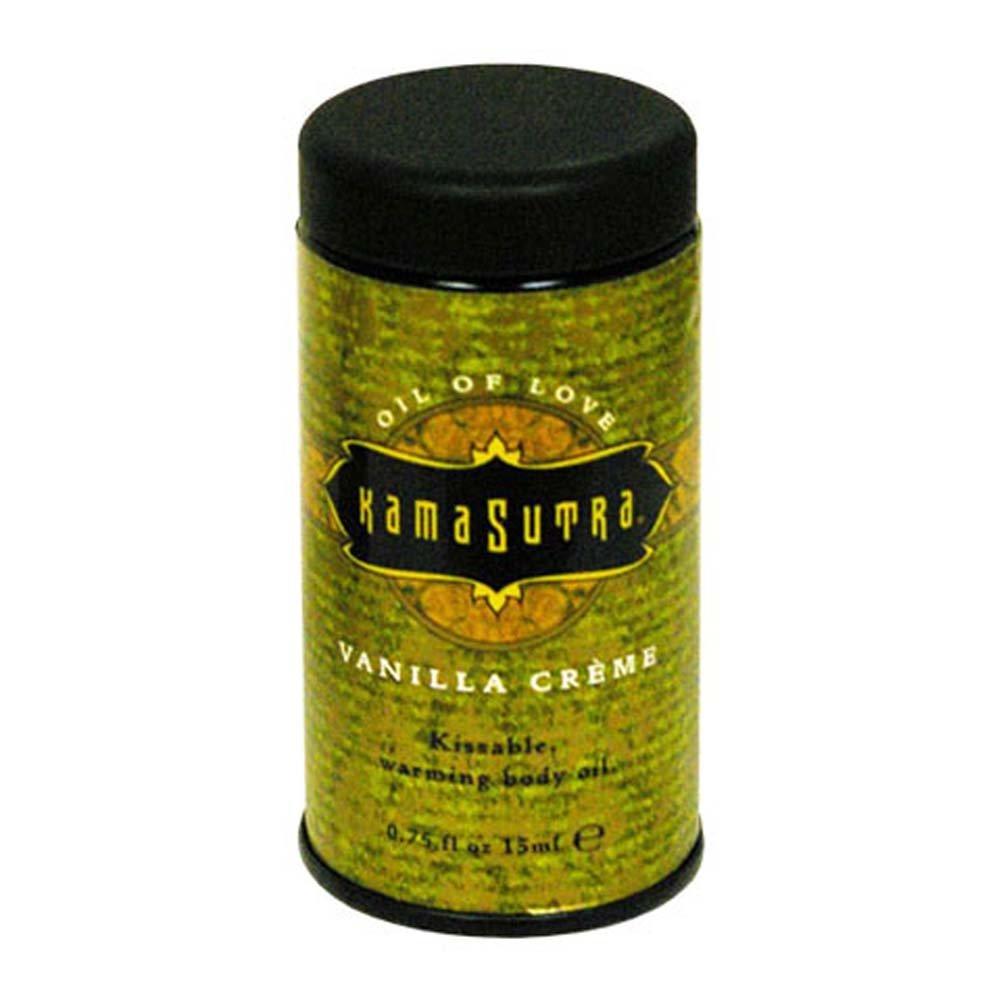 Kama Sutra Petite Oil of Love Vanilla Creme 0.75 Fl. Oz. - View #1